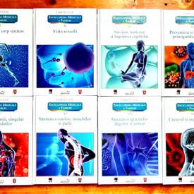 Larousse - Enciclopedia medicala a familiei (8 vol., editie hardcover)