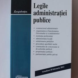 Legile administratiei publice