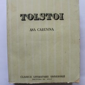 Lev Nikolaevici Tolstoi - Ana Carenina