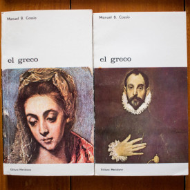 Manuel B. Cossio - El Greco (2 vol.)