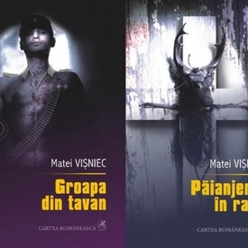 Matei Visniec - Paianjenul in rana. Groapa din tavan (2 vol., editie hardcover)