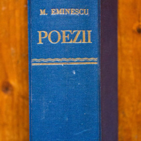 Mihai Eminescu - Poezii (editie hardcover, frumos relegata)