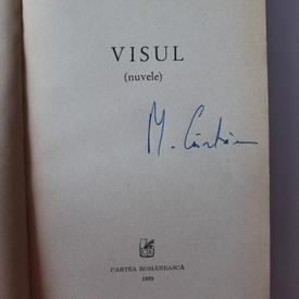 Mircea Cartarescu - Visul (cu autograf)