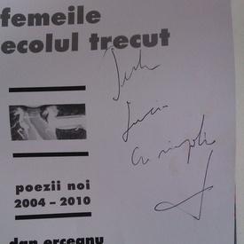 Mircea Dinescu - Femeile din secolul trecut (cu autograf)