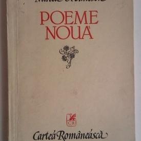 Mircea Ivanescu - Poeme noua (cu autograf)