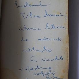 Mircea Vaida - Ospatul lui Trimalchio. Eseuri (cu autograf)