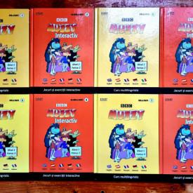 Muzzy - Curs multilingvistic. Jocuri si exercitii interactive I-VIII (8 vol., editie hardcover)
