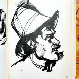 Nagy Imre - Ketszaz rajz (editie hardcover, in limba maghiara)