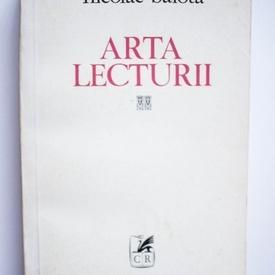 Nicolae Balota - Arta lecturii