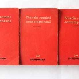 Nuvela romana contemporana (antologie, 3 vol.)