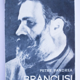 Petre Pandrea - Brancusi. Amintiri si exegeze