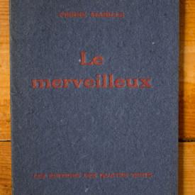 Pierre Mabille - Le merveilleux
