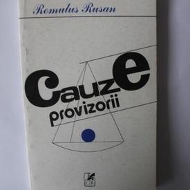 Romulus Rusan - Cauze provizorii