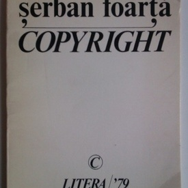 Serban Foarta - Copyright (cu autograf)