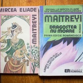 Set 2 carti Mircea Eliade, Maitreyi Devi - Maitreyi. Dragostea nu moare (2 vol.)