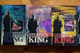 Stephen King - A Setet Torony (7 vol., serie completa, in limba maghiara)