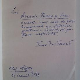 Teodor Tanco - Fana (cu autograf)