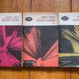 Tudor Vianu - Scriitori romani (3 vol.)