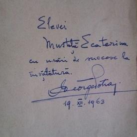 George Potra - Petrache Poenaru. Ctitor al invatamantului in tara noastra (cu autograf)
