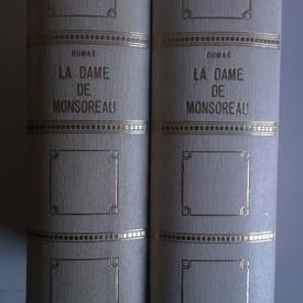 Alexandre Dumas - La dame de Monsoreau (2 vol., editie in limba franceza)