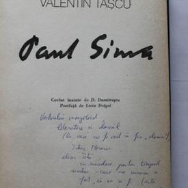 Valentin Tascu - Paul Sima (editie hardcover, cu autograf)