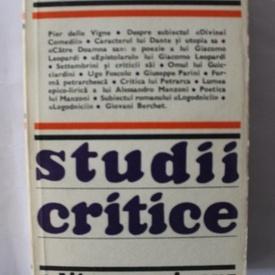 Francesco de Sanctis - Studii critice