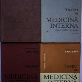 Radu Paun - Tratat de medicina interna. Bolile cardiovasculare (4 vol., editie hardcover)