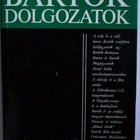 Laszlo Ferenc - Bartok-dolgozatok. Bartok Bela (editie hardcover)