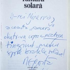 Negoita Irimie - Ramura solara (editie hardcover, cu autograf)