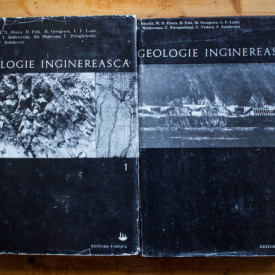 Ion Bancila (coord.) - Geologie inginereasca (2 vol., editie hardcover)