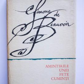 Simone de Beauvoir - Amintirile unei fete cuminti (editie hardcover)