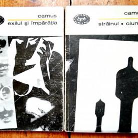 Albert Camus - Exilul si imparatia. Strainul. Ciuma (2 vol.)