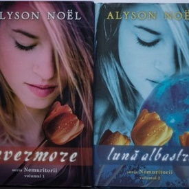 Alyson Noel - Evermore. Luna albastra (2 vol., seria Nemuritorii) (editii hardcover)