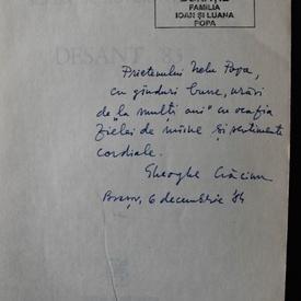 Antologie de proza scurta - Desant 83 (cu autograful lui Gheorghe Craciun)