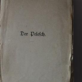 Carmen Sylva - Pelesch-Marchen (Povestile Pelesului) (editie princeps in limba germana)