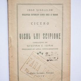 Cicero - Visul lui Scipione (traducere de Stefan C. Ioan) (editie interbelica)