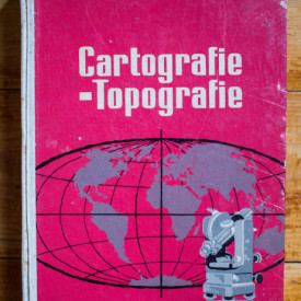 Conf. Al. Sandulache, Conf. Victor Sficlea - Cartografie-topografie (editie hardcover)