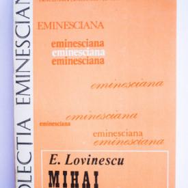 E. Lovinescu - Mihai Eminescu