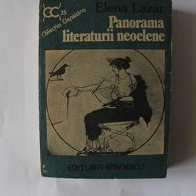 Elena Lazar - Panorama literaturii neoelene