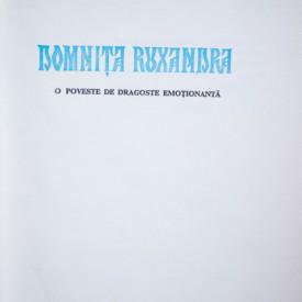 Elvira Bogdan - Domnita Ruxandra (editie hardcover)
