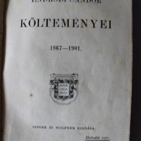 Endrodi Sandor - Koltemenyei (1867-1901) (editie hardcover)