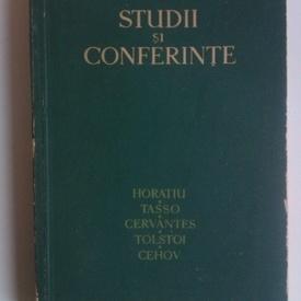 G. Calinescu - Studii si conferinte (cu autograf)