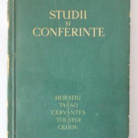 G. Calinescu - Studii si conferinte