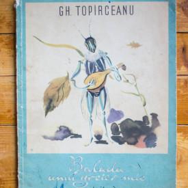 Gh. Topirceanu - Balada unui greier mic
