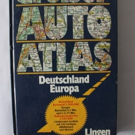 Grober Auto Atlas - Deutschland Europa (editie hardcover, in limba germana)