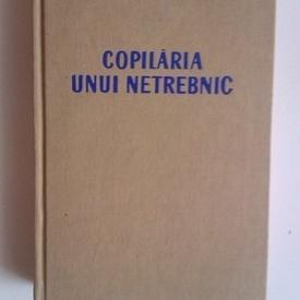 Ion Calugaru - Copilaria unui netrebnic (cu autograful sotiei, pictorul Titina Calugaru)