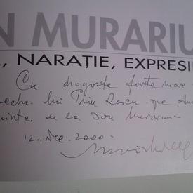 Ion Murariu - Lirism, naratie, expresie (cu autograf)