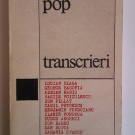 Ion Pop - Transcrieri