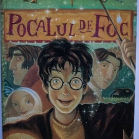 J. K. Rowling - Harry Potter si Pocalul de foc (editie hardcover)