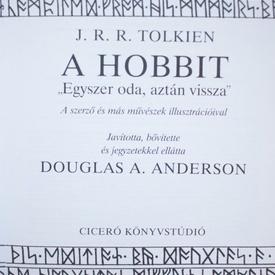 J.R.R. Tolkien - A Hobbit (editie hardcover)